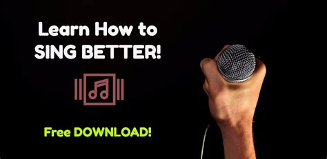 learn to sing better learn how to sing better appstore for android
