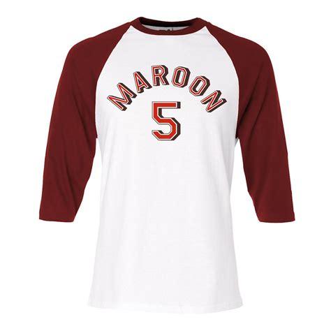 Tshirt Raglan Maroon 5 maroon 5 raglan