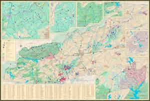 carolina waterfalls map waterfalls of carolina map previews