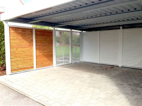 baubeschreibung carport carport wandelemente carceffo moderne carports garagen