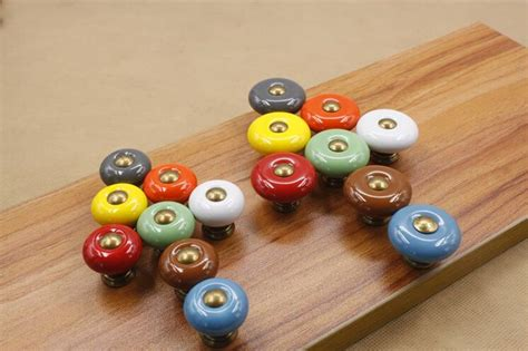 Small Knobs And Pulls by Vintage Bronze Ceramic Furniture Handles Drawer Knobs And