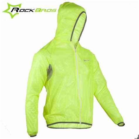 fluorescent waterproof cycling jacket aliexpress com buy rockbros cycling wind coat rain
