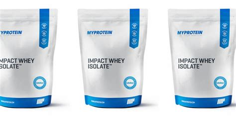 Myprotein Impact Whey Protein Isolate 2 Lbs Repack Eceran Free myprotein impact whey isolate two 5 5 lb bags for just
