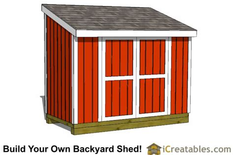 5 X 10 Shed 5x10 lean to shed plans lean to shed plans to build from