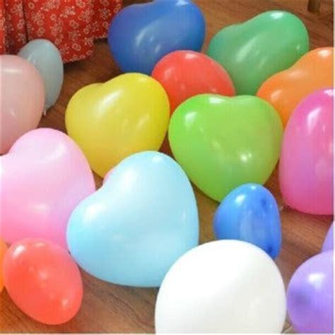 Balon Putih Balon Hati Balon Bentuk balon hati balon 320 warna warni balloon corner