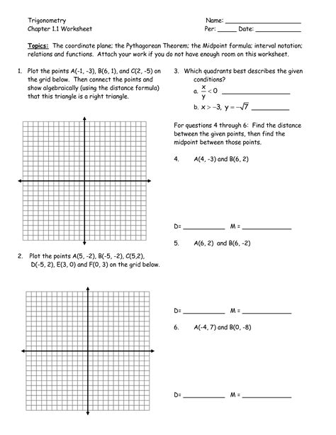 Coordinate Plane Worksheets by 6th Grade Coordinate Grid Activities Images