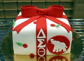 delta sigma theta cake ideas and designs