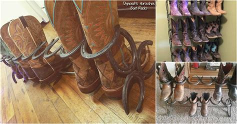 Boot Rack Diy by How To Make This Ridiculously Simple Diy Horseshoe Boot