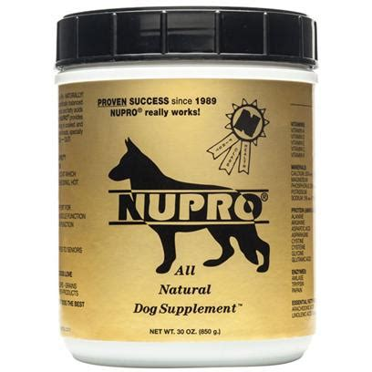 puppy supplements nupro all supplement vitamins petcarerx