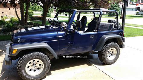 Jeep Wrangler Sport 4 Door 1997 Jeep Wrangler Sport Sport Utility 2 Door 4 0l
