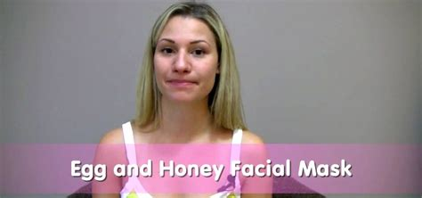 how to make a skin clearing egg white and honey face mask