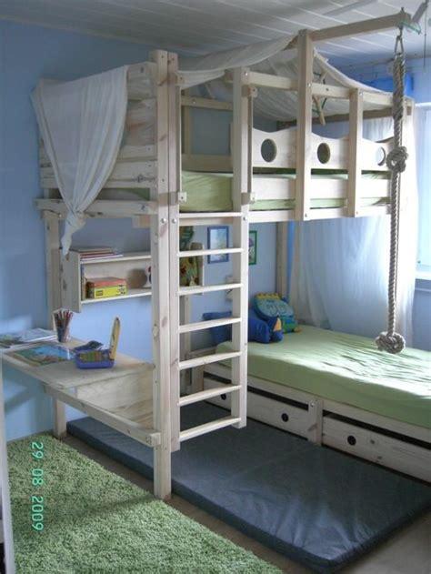 moderne kinderbetten 640 hochbett kinderbett etagenbett babybett abenteuerbett