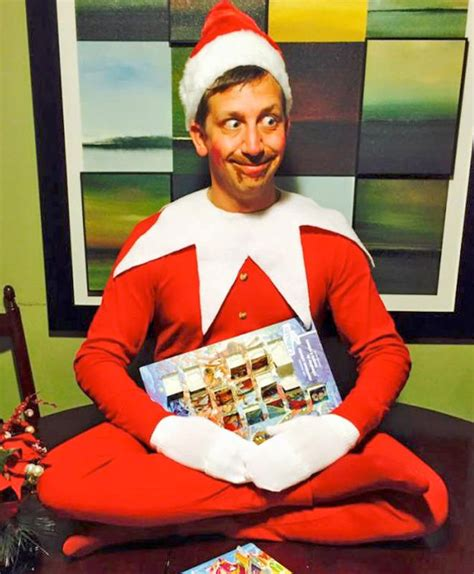 dad turns baby into elf on the shelf usa today this dad takes elf on the shelf to a whole new level mum