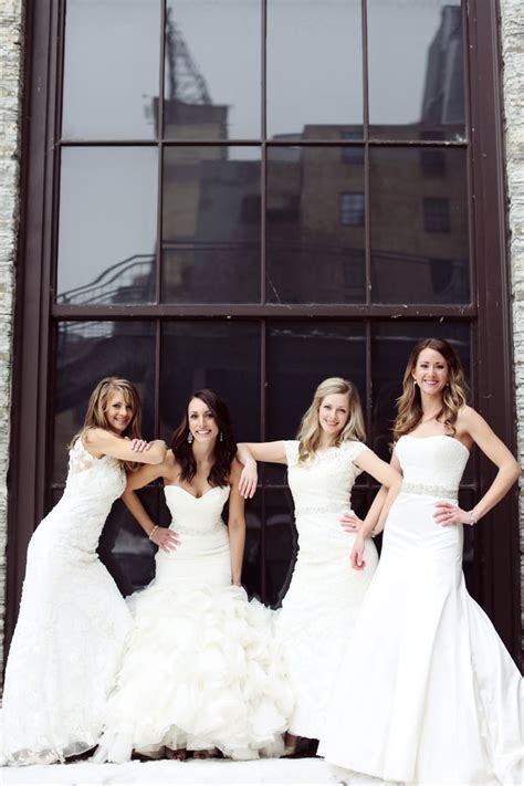 Best Friend Wedding Dress Photo Shoot   POPSUGAR Love