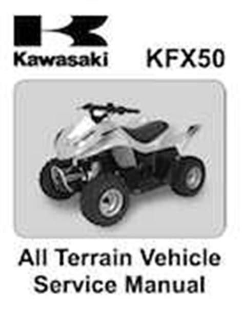 2007 2009 Kawasaki Kfx50 Service Manual 7 95