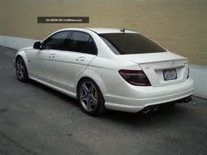 2009 mercedes c63 amg base sedan 4 door 6 3l