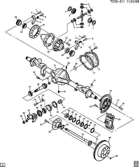 rear axle diagram 2012 mustang differential diagram 2012 free engine image