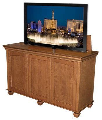 tv lift cabinets furniture to organize and hide your