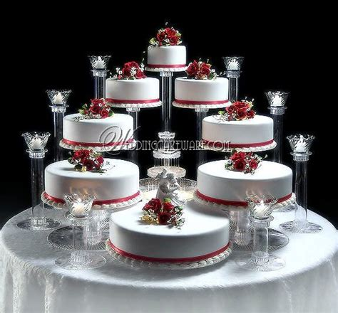 3 Tier Candle Stand by 8 Tier Cascading Wedding Cake Stand Stands 8 Tier Candle