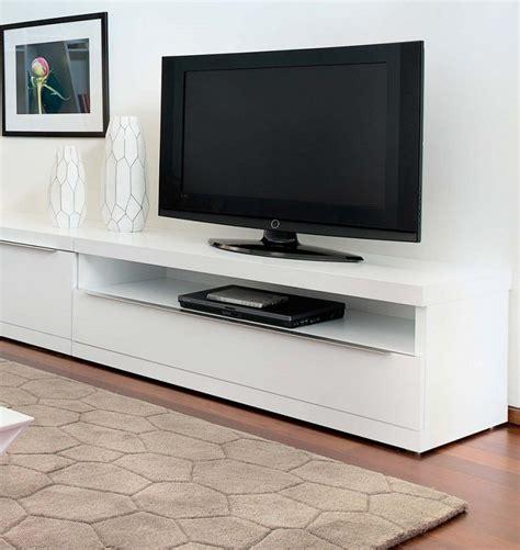 Banc Tv Bois 381 by Temahome Valley Meuble Tv Design Blanc Avec Niche De