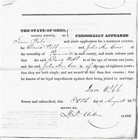 Webb County Marriage Records Webb Genealogical Findings Vital Records