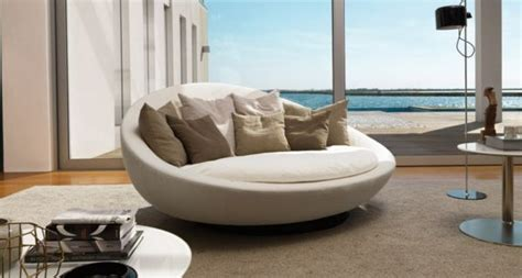 rundes schlafsofa rundes sofa modernes sofa runde sofas runde sache