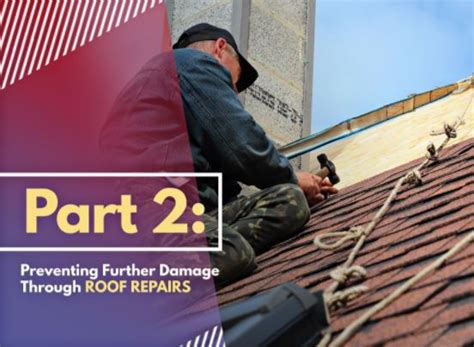 3 Efficient Ways To Prevent 3 Effective Ways To Make The Most Of Your Roofing System Part 2 Preventing Further Damage