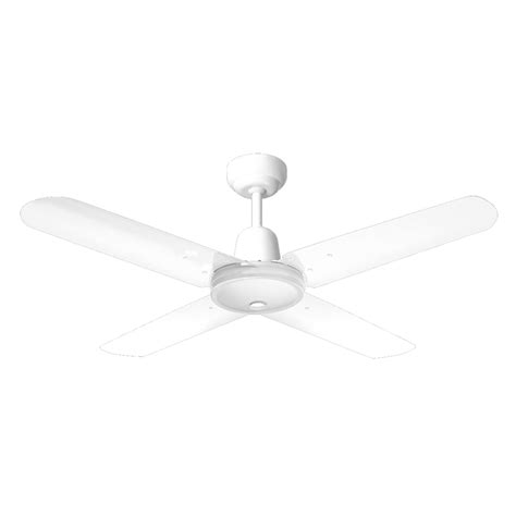 Bunnings Ceiling Fans With Lights Hpm 1200mm White Ceiling Fan Hang Sure 4 Blade I N 4441524 Bunnings Warehouse