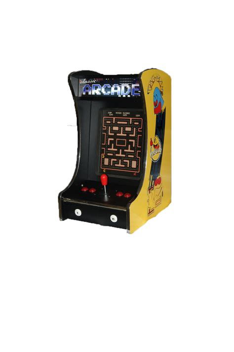 bar top arcade machine arcade rewind 60 in 1 bar top arcade machine pac man