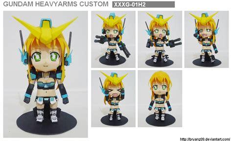 Nendoroid Papercraft - papercraft nendoroid gundam h arms custom by bryanz09