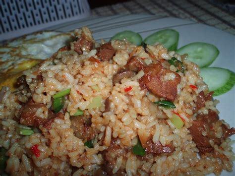 membuat nasi goreng sehat cara membuat nasi goreng mentega makanan sehat dan nikmat