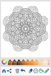 mandalas gorgeous coloring books with more than 120 illustrations to complete mandala coloring for adults android apps on play