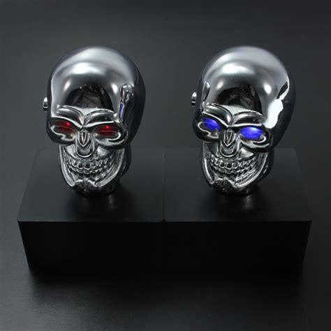 Skull Gear Knob by Car Chrome Skull Auto Manual Gear Stick Shift Knob Lever