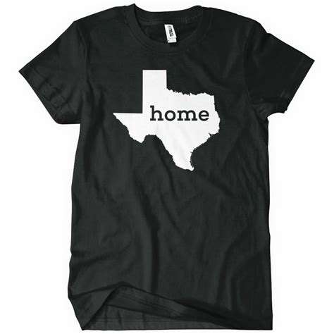home t shirt state pride related textual tees