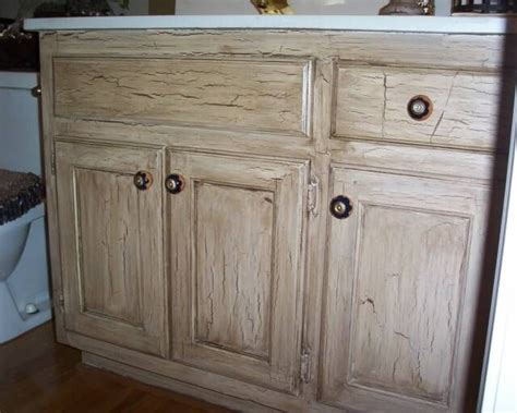 crackle paint kitchen cabinets crackled cabinets my home pinterest