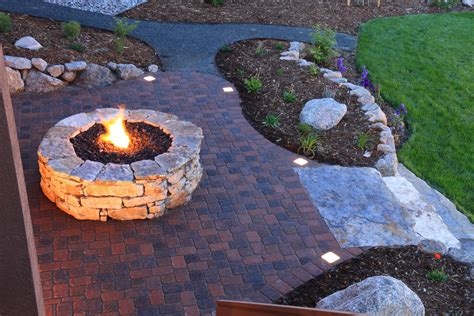 Backyard Fire Pits - backyard landscaping ideas attractive fire pit designs homesthetics inspiring ideas for your