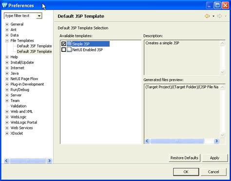 templates for jsp website controlling web application look and feel with jsp templates