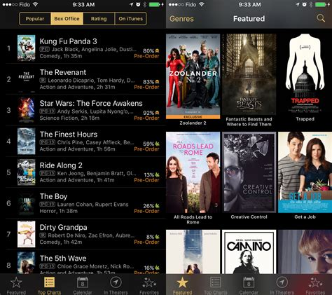 film it app itunes movie trailers app makes its way to canada