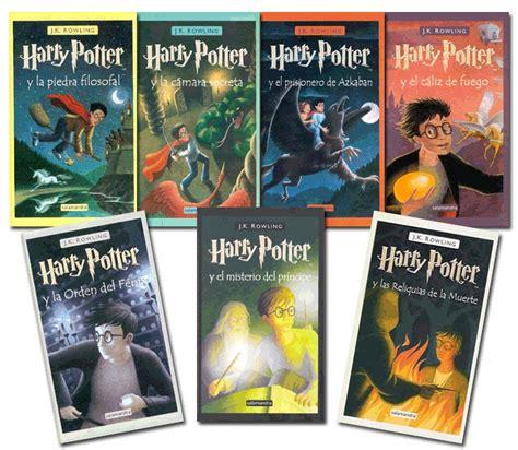 libro harry potter y el colecci 243 n completa de libros de harry potter rowling 59 00 en mercado libre