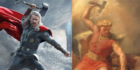 thor movie vs mythology marvel movies on flipboard