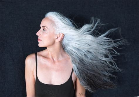 old hair at 59 yasmina rossi the 59 year old model revolutionizing the