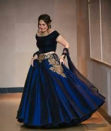How To Wash Silk Duvet Buy Blue Taffeta Silk Embroidery Unstitched Lehenga Choli