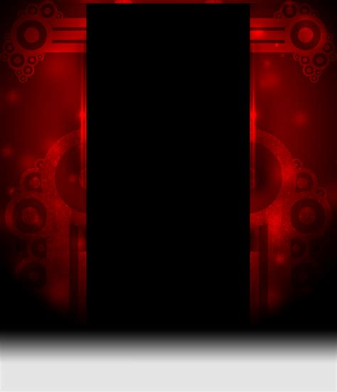 youtube red layout red retro vector youtube channel background by haloking931