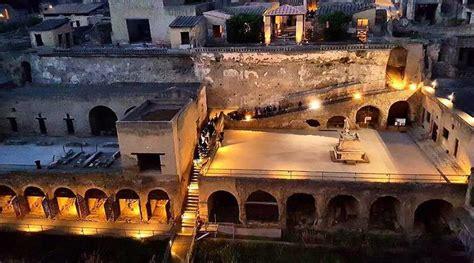 pompei biglietto ingresso scavi di pompei ed ercolano aperti di notte con biglietto