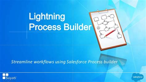 streamline workflow definition streamline workflows using salesforce process builder