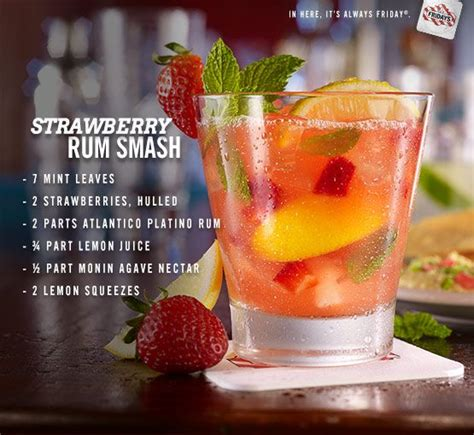 cocktail ideas strawberry rum smash recipe the summer cocktail