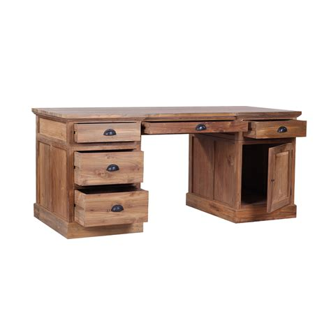 reclaimed wood desk the lembar classic styling solid