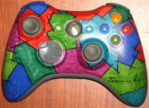 acrylic paint xbox controller color up your xbox 360 controller