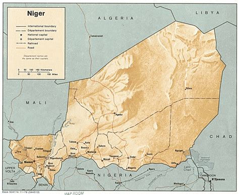 niger river map world and forces niger
