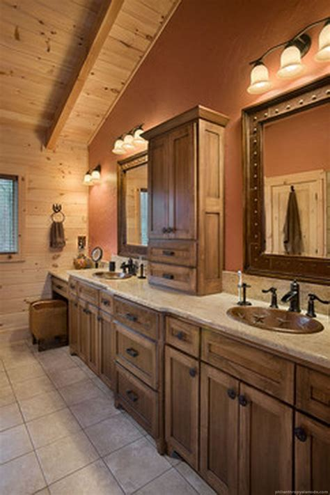 Modern Rustic Bathroom Design by Modern Bathroom Rustic Decor Ideas 12